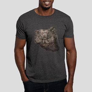 Grey Persian Cat Dark T-Shirt
