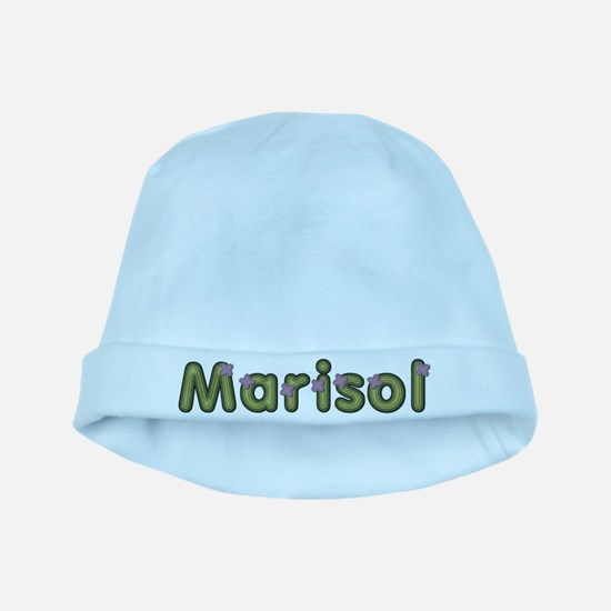 Marisol Spring Green baby hat