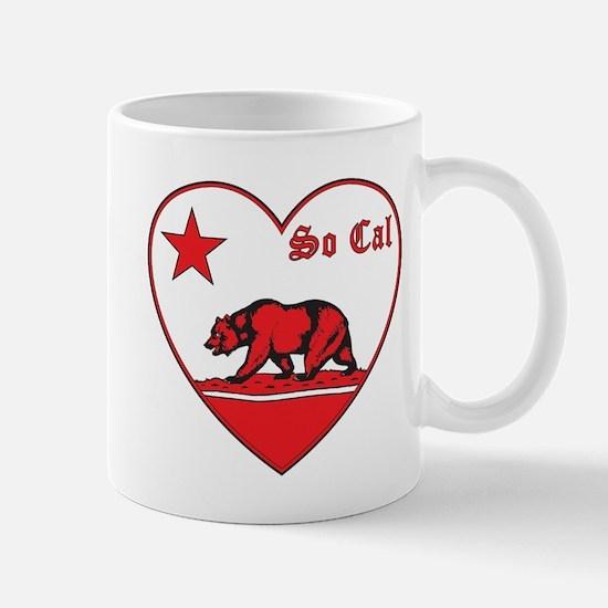 love so cal bear red Mug