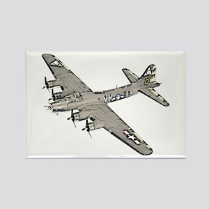 B-17 Rectangle Magnet