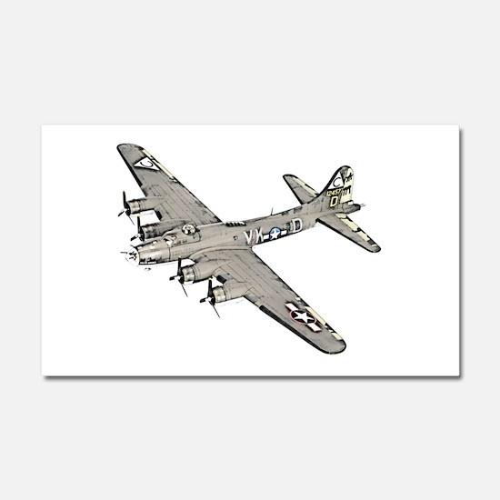 B-17 Car Magnet 20 x 12