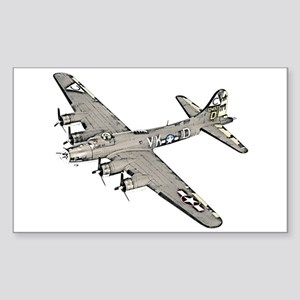 B-17 Sticker (Rectangle)