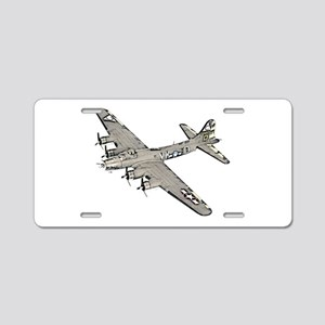 B-17 Aluminum License Plate