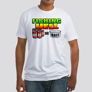 Fishing Hell - Fitted T-Shirt