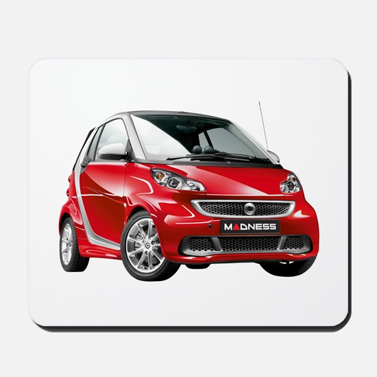 smart 451 - 2013 Red / Silver Mousepad