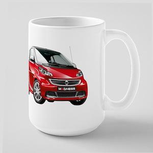 smart 451 - 2013 Red / Silver Mug