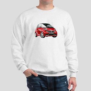 smart 451 - 2013 Red / Silver Sweatshirt