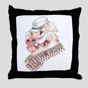 OINK Y'ALL Throw Pillow