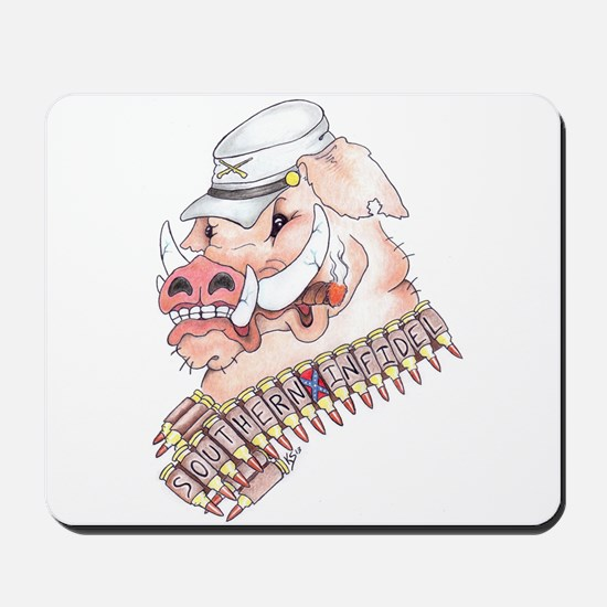 OINK Y'ALL Mousepad