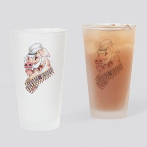 OINK Y'ALL Drinking Glass