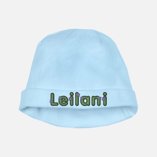 Leilani Spring Green baby hat
