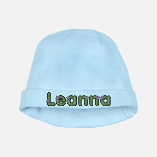 Leanna Spring Green baby hat