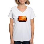 radelaide winter Women's V-Neck T-Shirt