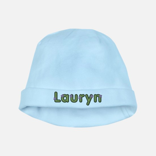 Lauryn Spring Green baby hat