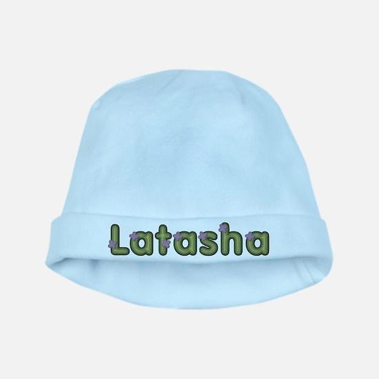 Latasha Spring Green baby hat
