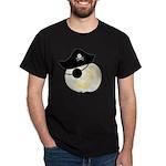 Albino Jack Rackham Jack o'Lantern Dark T-Shirt