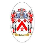 Belvezer Sticker (Oval)