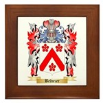 Belvezer Framed Tile