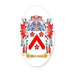 Belvedere Oval Car Magnet