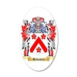 Belvedere 35x21 Oval Wall Decal