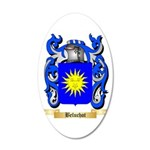 Beluchot 20x12 Oval Wall Decal