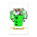 Beltran 35x21 Wall Decal