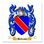Beltrami Square Car Magnet 3