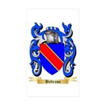 Beltrami Sticker (Rectangle 50 pk)
