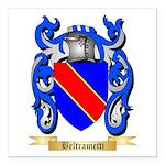Beltrametti Square Car Magnet 3
