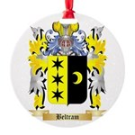 Beltram Round Ornament