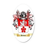 Belton Oval Car Magnet