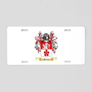 Belton Aluminum License Plate