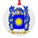 Belot Round Ornament