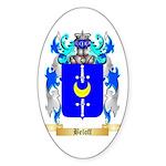 Beloff Sticker (Oval 10 pk)