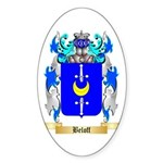Beloff Sticker (Oval 50 pk)