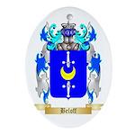 Beloff Ornament (Oval)