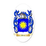 Belo Oval Car Magnet
