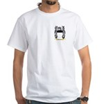 Belmont White T-Shirt