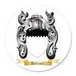 Belmont Round Car Magnet