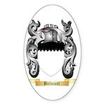 Belmont Sticker (Oval 50 pk)