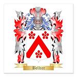 Bellver Square Car Magnet 3