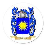 Belluzzi Round Car Magnet