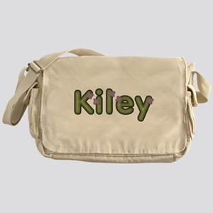 Kiley Spring Green Messenger Bag