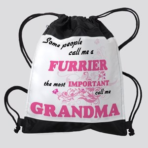 Some call me a Furrier, the most im Drawstring Bag