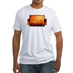 adelaide winter Fitted T-Shirt