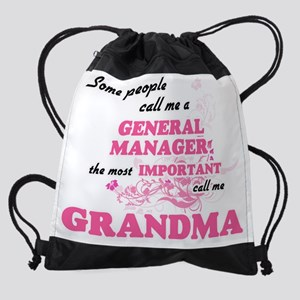 Some call me a General Manager, the Drawstring Bag