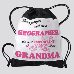 Some call me a Geographer, the most Drawstring Bag