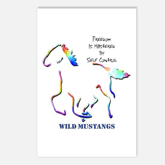 Wild Mustangs Postcards (Package of 8)