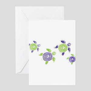 Autism Awareness Turtle Greeting Card
