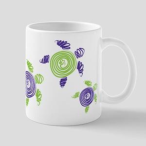 Autism Awareness Turtle Mug